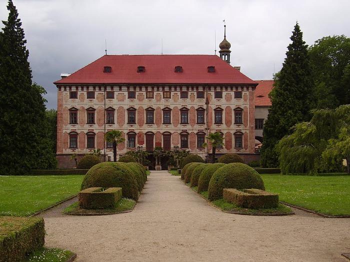 Замок Либоховице . Libochovice 22867