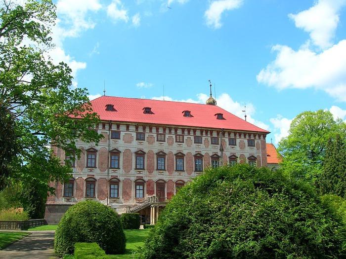 Замок Либоховице . Libochovice 60446