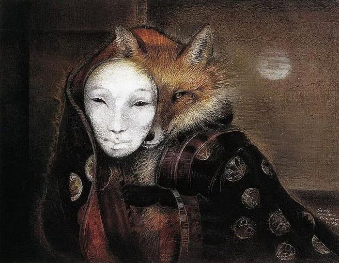 Шаманская живопись от Susan Seddon Boulet  3
