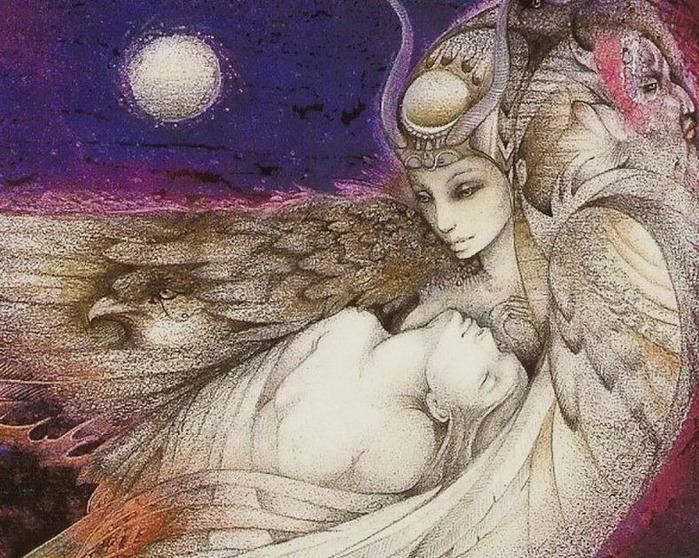 Шаманская живопись от Susan Seddon Boulet  5