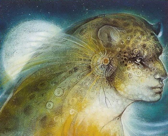 Шаманская живопись от Susan Seddon Boulet  6