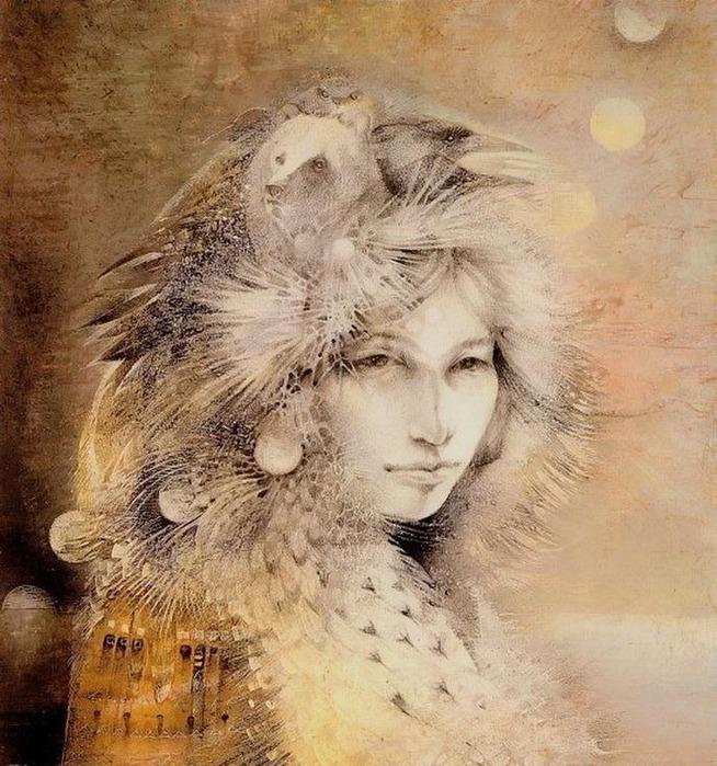 Шаманская живопись от Susan Seddon Boulet  7