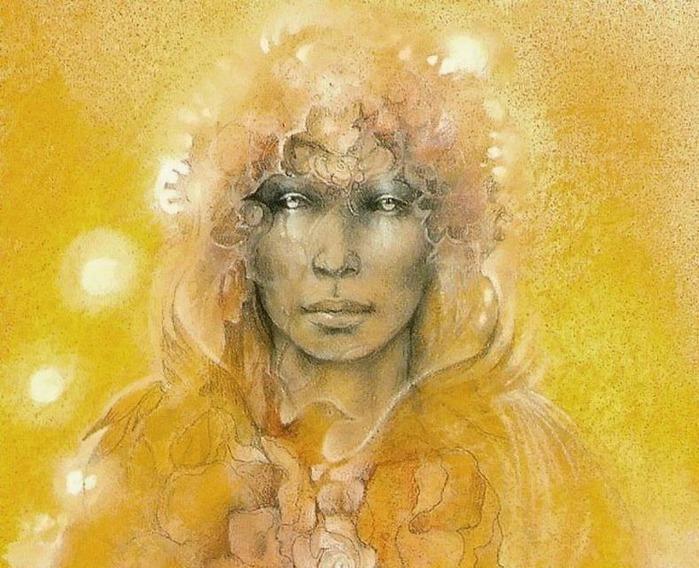 Шаманская живопись от Susan Seddon Boulet  9