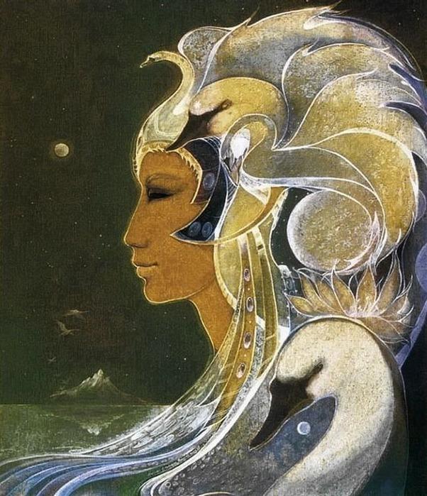 Шаманская живопись от Susan Seddon Boulet  12