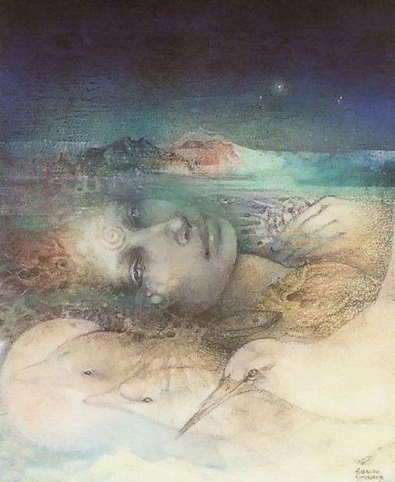 Шаманская живопись от Susan Seddon Boulet  18