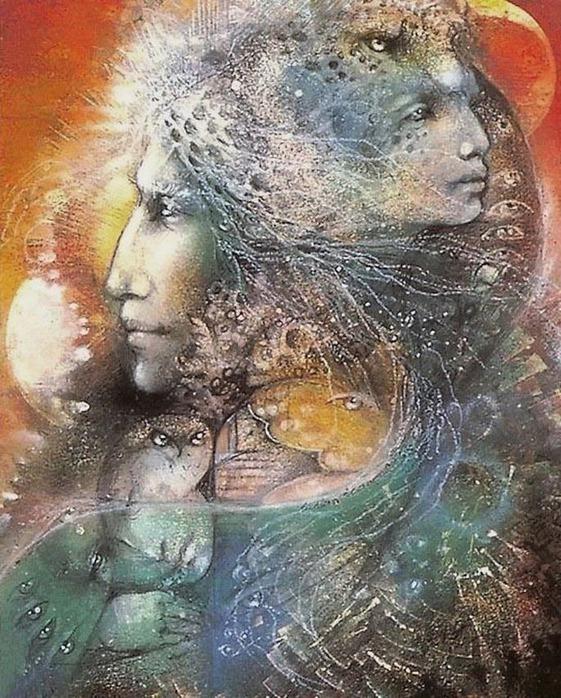 Шаманская живопись от Susan Seddon Boulet  23