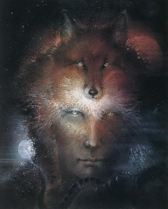 Шаманская живопись от Susan Seddon Boulet  25