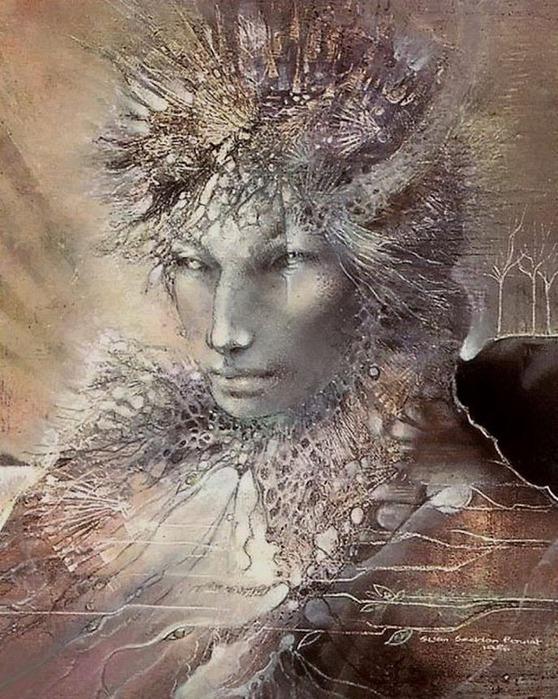 Шаманская живопись от Susan Seddon Boulet  27