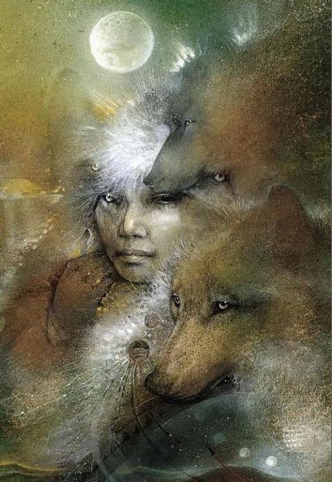 Шаманская живопись от Susan Seddon Boulet  31