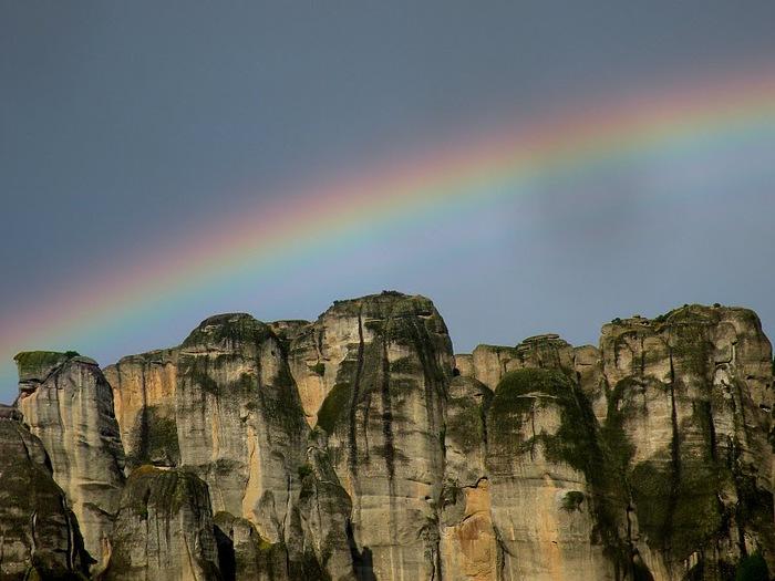 Монастыри Метеоры – парящие в воздухе 97081