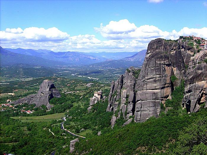 Монастыри Метеоры – парящие в воздухе 36792