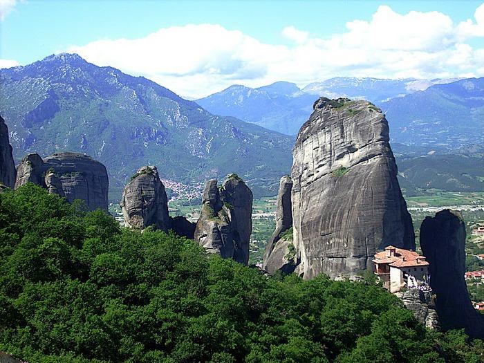 Монастыри Метеоры – парящие в воздухе 90137