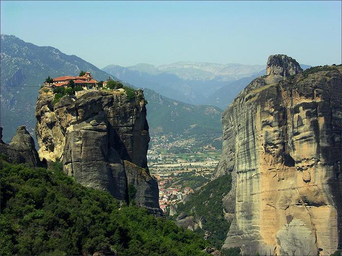 Монастыри Метеоры – парящие в воздухе 14698