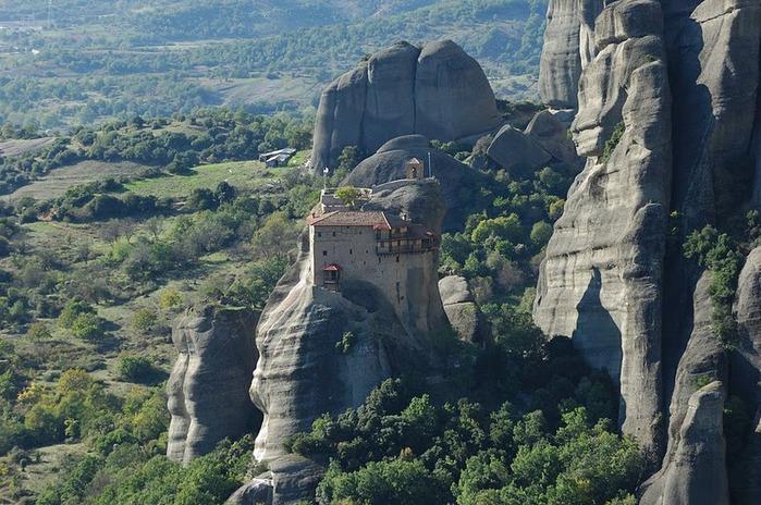 Монастыри Метеоры – парящие в воздухе 54130