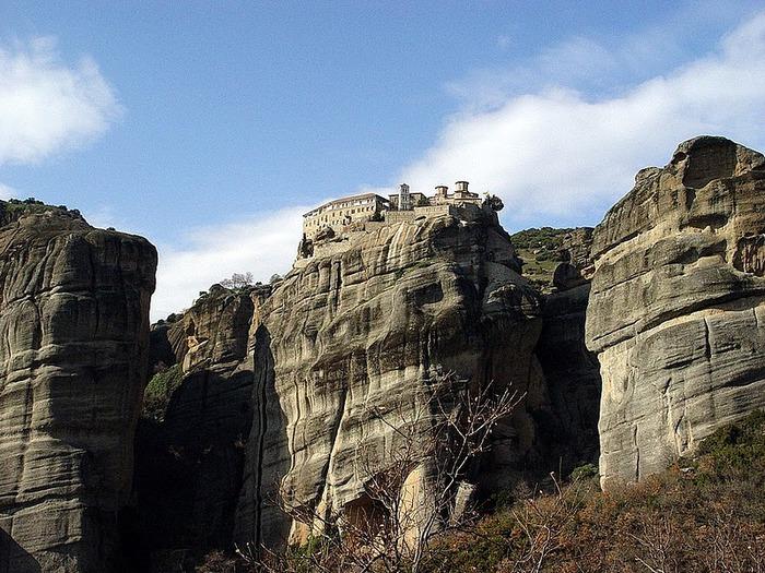 Монастыри Метеоры – парящие в воздухе 89476