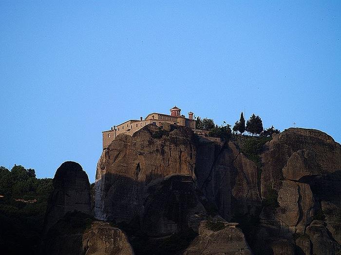 Монастыри Метеоры – парящие в воздухе 11195