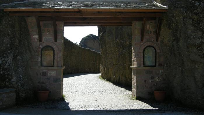 Монастыри Метеоры – парящие в воздухе 77413
