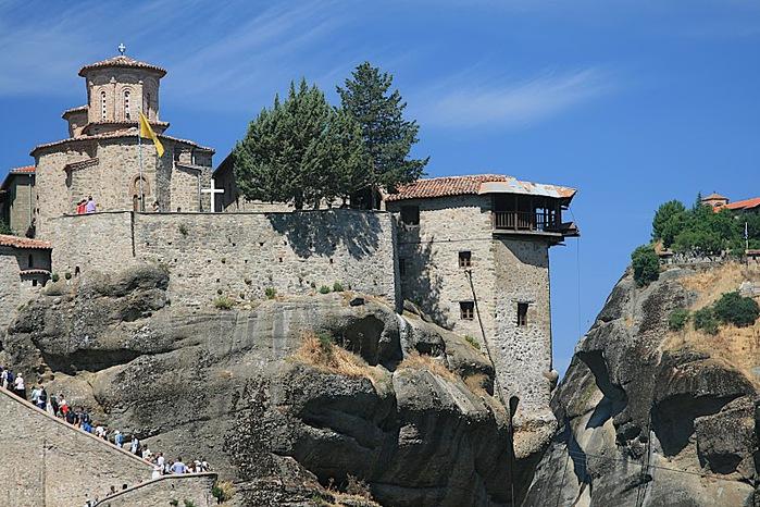 Монастыри Метеоры – парящие в воздухе 58312