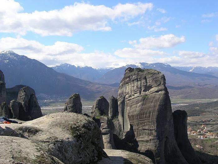 Монастыри Метеоры – парящие в воздухе 12405
