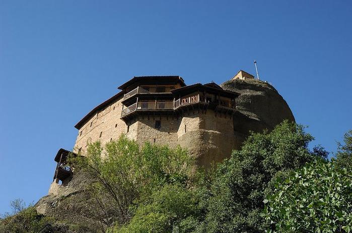 Монастыри Метеоры – парящие в воздухе 71413