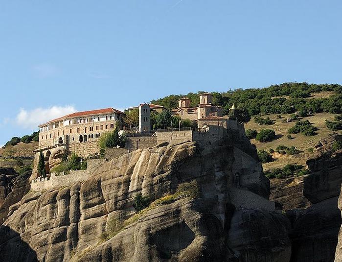 Монастыри Метеоры – парящие в воздухе 91606