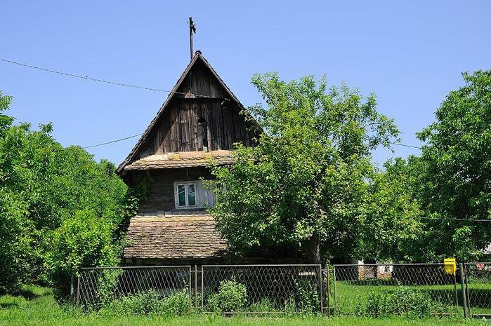 Деревянные дома в заповедном болоте - «Лоньско поле» 42255