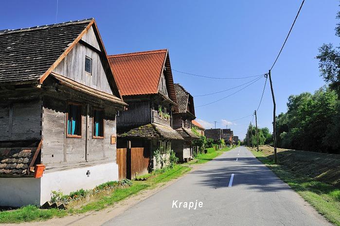 Деревянные дома в заповедном болоте - «Лоньско поле» 14629