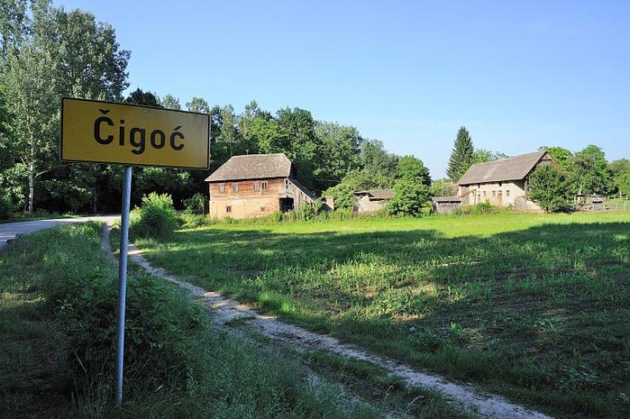 Деревянные дома в заповедном болоте - «Лоньско поле» 15643