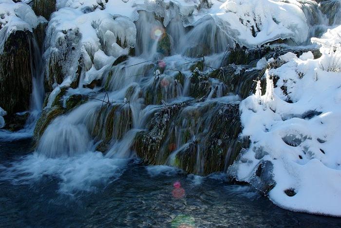 Плитвицкие озёра зимой - Зимняя сказка. 53153