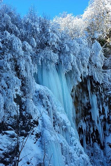 Плитвицкие озёра зимой - Зимняя сказка. 83787