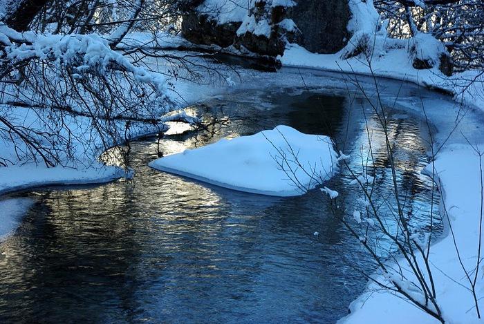 Плитвицкие озёра зимой - Зимняя сказка. 29023