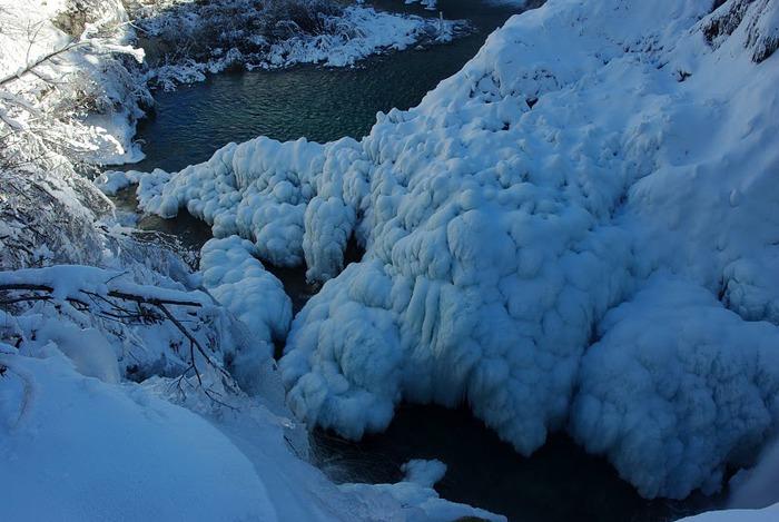 Плитвицкие озёра зимой - Зимняя сказка. 67541