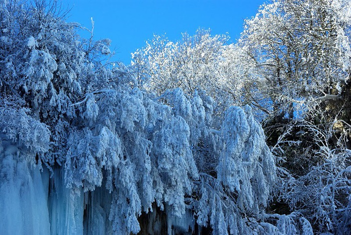 Плитвицкие озёра зимой - Зимняя сказка. 61998