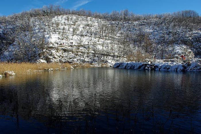Плитвицкие озёра зимой - Зимняя сказка. 45300