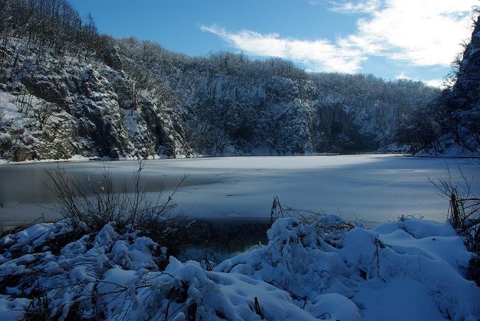 Плитвицкие озёра зимой - Зимняя сказка. 17776