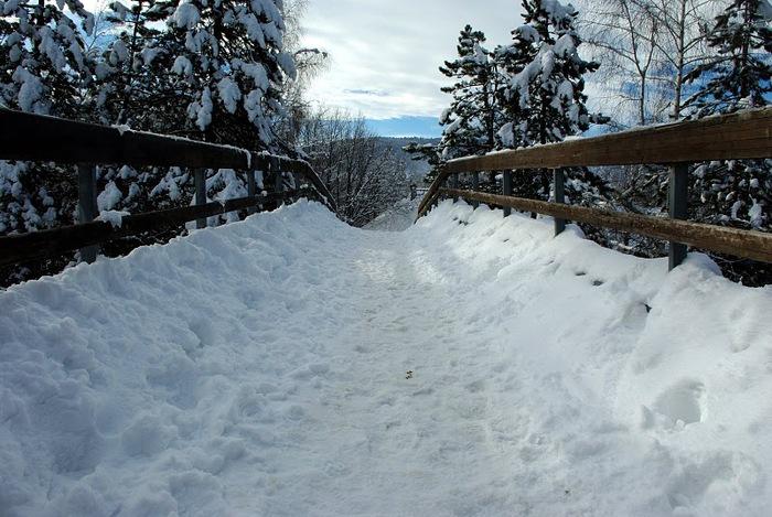 Плитвицкие озёра зимой - Зимняя сказка. 71689