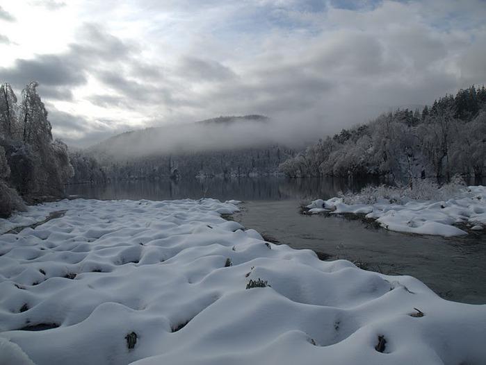 Плитвицкие озёра зимой - Зимняя сказка. 66211
