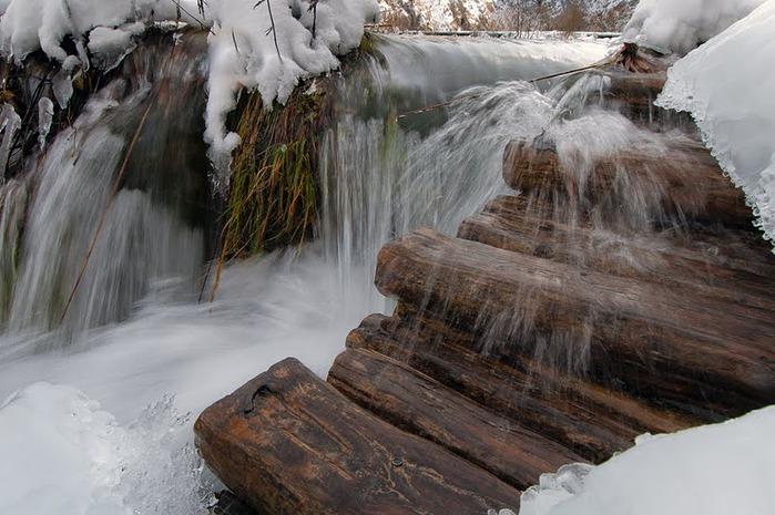 Плитвицкие озёра зимой - Зимняя сказка. 52181