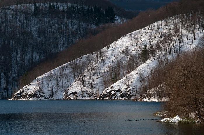 Плитвицкие озёра зимой - Зимняя сказка. 73908