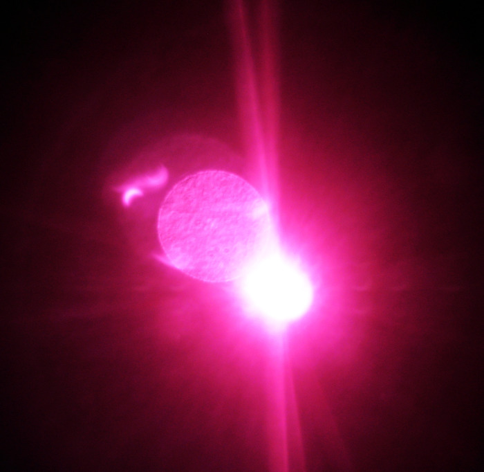 солнце, луна, затмение, 4 января 2011
