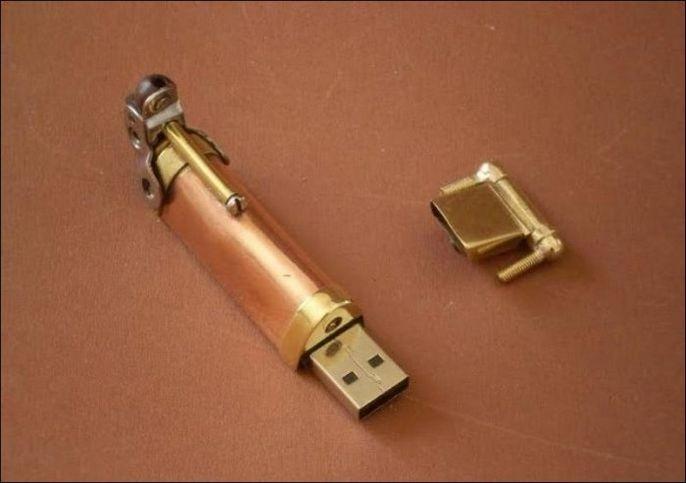 Ручка для гиков в стиле стимпанк 3