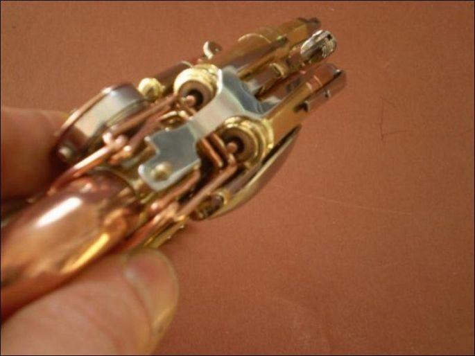 Ручка для гиков в стиле стимпанк 4
