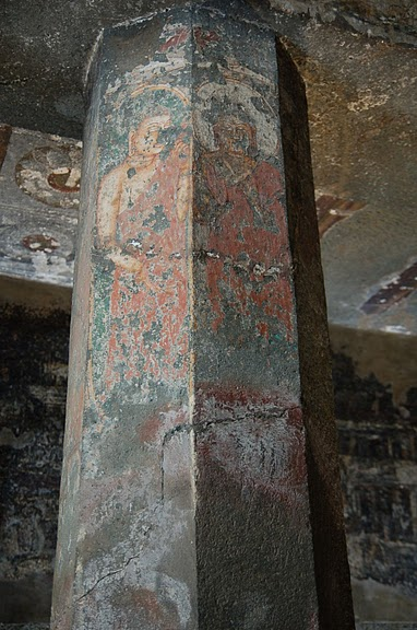 Фрески Аджанты - История на каменных сводах 75835