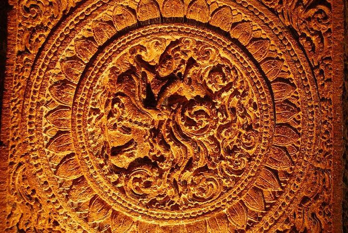 Фрески Аджанты - История на каменных сводах 33868