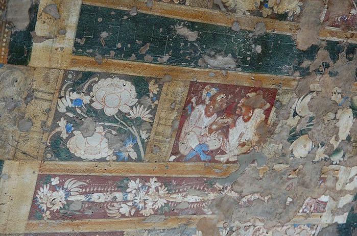 Фрески Аджанты - История на каменных сводах 34004