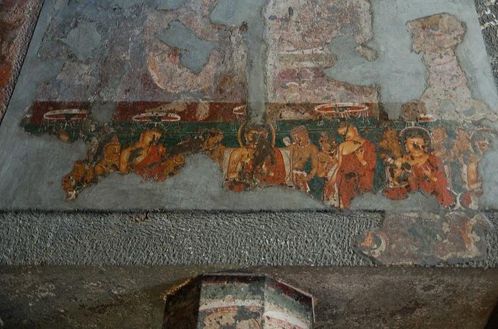 Фрески Аджанты - История на каменных сводах 65870