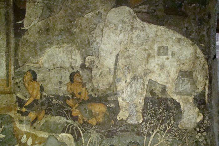 Фрески Аджанты - История на каменных сводах 58329