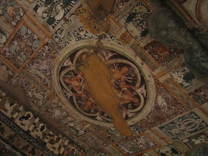Фрески Аджанты - История на каменных сводах 53122
