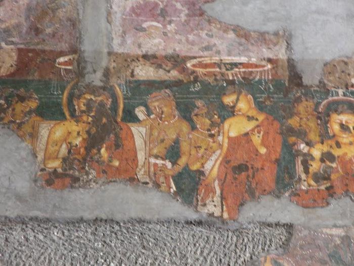 Фрески Аджанты - История на каменных сводах 12614
