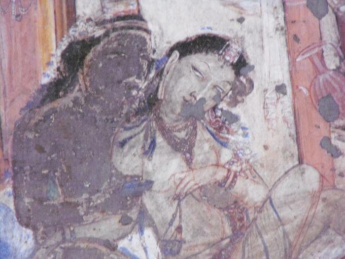 Фрески Аджанты - История на каменных сводах 81757